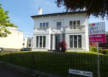 Thumbnail 2 bed flat for sale in Conway Road, Cardiff