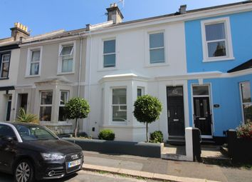 Thumbnail 3 bed terraced house for sale in Palmerston Street, Stoke, Plymouth