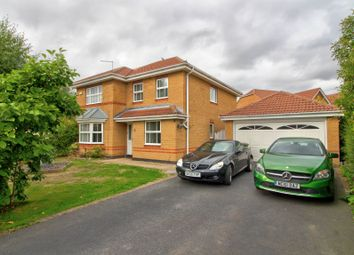 Thumbnail 4 bed detached house for sale in Clarence Drive, Coalville