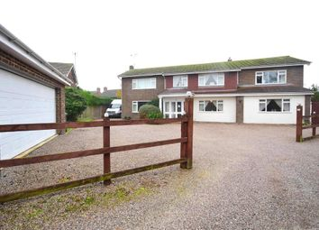Thumbnail 5 bed detached house for sale in Plantation Road, Chestfield, Whitstable, Kent
