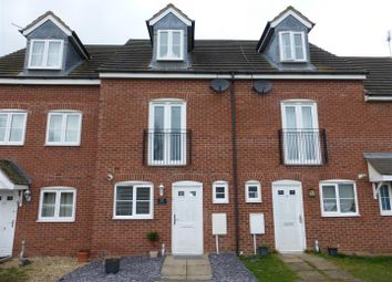 Thumbnail 3 bedroom town house for sale in Redshank Way, Hampton Vale, Peterborough