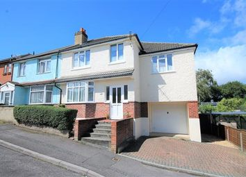 Thumbnail 5 bedroom semi-detached house for sale in Pembroke Road, Parkstone, Poole