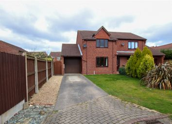 Thumbnail 2 bed semi-detached house for sale in Hawthorn Close, Wootton, North Lincolnshire