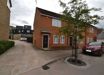 Thumbnail 2 bed end terrace house for sale in Alba Road, New Hall, Harlow, Essex