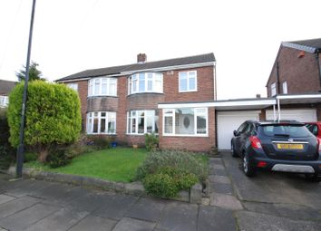 Thumbnail Semi-detached house for sale in Woodhorn Gardens, Wideopen, Newcastle Upon Tyne