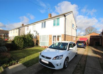Thumbnail 3 bed semi-detached house for sale in Conway Drive, Ashford, Surrey