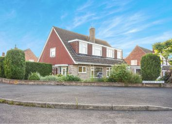 Thumbnail 3 bed semi-detached house for sale in Priory Walk, Leicester