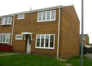 Thumbnail 3 bed terraced house to rent in Aldridge Court, Ushaw Moor, Durham