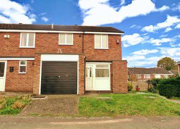 Thumbnail End terrace house for sale in Pecockes Close, Great Cornard, Sudbury
