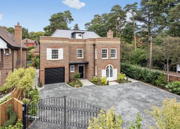 Thumbnail 5 bed detached house for sale in Maybury Hill, Woking