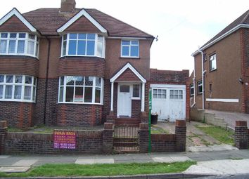 Thumbnail 4 bed semi-detached house to rent in Rushlake Road, Brighton