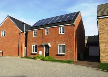 Thumbnail 4 bed detached house for sale in Hillary Close, Peterborough