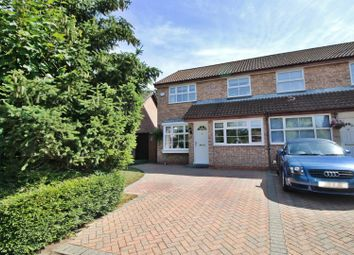 Thumbnail 3 bed semi-detached house for sale in The Campions, Borehamwood