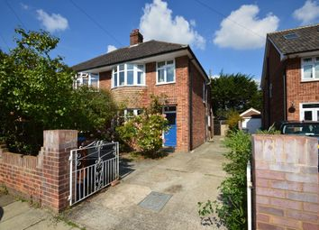 Thumbnail 3 bed semi-detached house for sale in Dorset Close, Ipswich