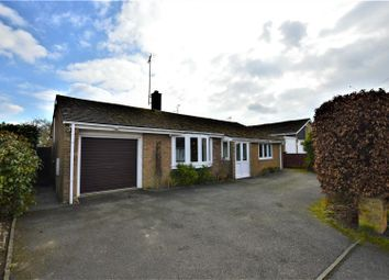 Thumbnail 3 bed detached bungalow for sale in Northwick Road, Ketton, Stamford
