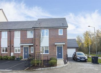 Thumbnail 3 bed end terrace house for sale in Coniston Close, Old Barn Estate, Newport