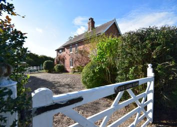 Thumbnail 4 bed detached house to rent in Long Lane, Bronington, Whitchurch