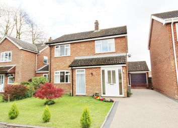 Thumbnail 3 bed detached house for sale in Nursery Close, Acle