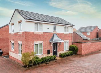 Thumbnail 3 bed detached house for sale in Palisade Close, Newport