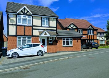 Thumbnail 3 bed detached house for sale in Cumberland Way, Leicester