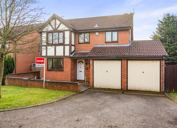 Thumbnail 4 bedroom detached house for sale in Wroxall Close, Lakeside, Brierley Hill