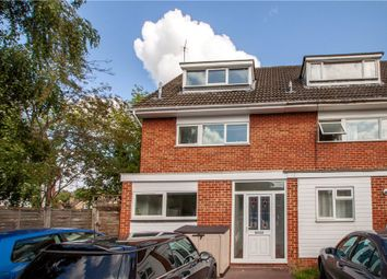Thumbnail 3 bedroom end terrace house for sale in Bideford Close, Woodley, Reading