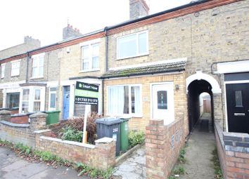 Thumbnail 3 bed terraced house for sale in Oundle Road, Woodston, Peterborough