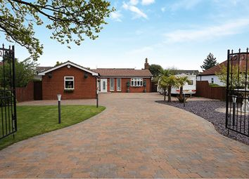 Thumbnail 3 bed detached bungalow for sale in Church Avenue, Humberston, Grimsby