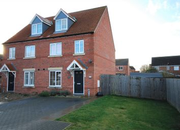 Thumbnail 3 bed town house for sale in Tyne Close, Spalding