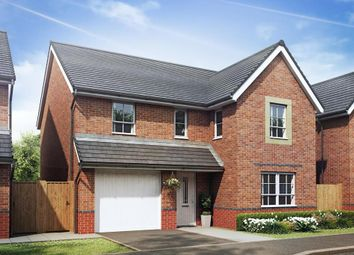 "Thumbnail 4 bed detached house for sale in ""Hale"" at Llantarnam Road, Llantarnam, Cwmbran"