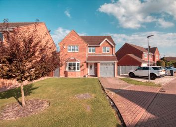 Thumbnail 4 bed detached house for sale in Westfield Garth, Ealand, Scunthorpe