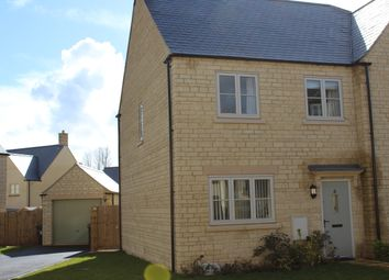 Thumbnail 3 bed semi-detached house for sale in Concorde Crescent, Fairford