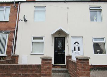 Thumbnail 2 bedroom terraced house to rent in Duke Street, Creswell, Worksop