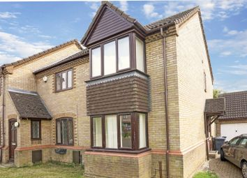 Thumbnail 2 bed end terrace house for sale in Cornwallis Drive, Eaton Socon, St. Neots, Cambridgeshire