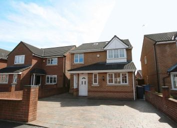 Thumbnail 4 bed detached house for sale in Greenhaven Close, Walkden, Manchester