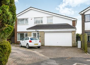 Thumbnail 5 bed detached house for sale in Erw'r Delyn Close, Penarth