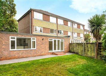 Thumbnail 5 bedroom end terrace house for sale in Georgian Close, Staines-Upon-Thames, Surrey