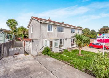 Thumbnail 3 bed semi-detached house for sale in Farm Lane, Honicknowle, Plymouth