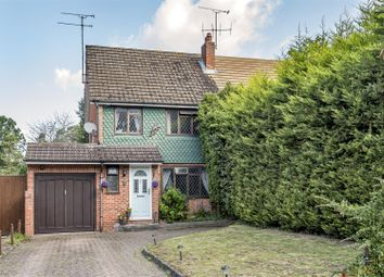 Thumbnail 3 bed semi-detached house for sale in Greenwood Road, Crowthorne, Berkshire