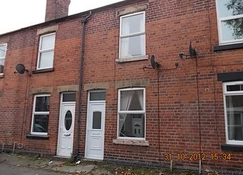Thumbnail 2 bed terraced house to rent in Ellesmere Terrace, Rotherham