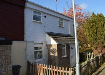 Thumbnail 2 bed end terrace house for sale in Wade Meadow Court, Lings, Northampton