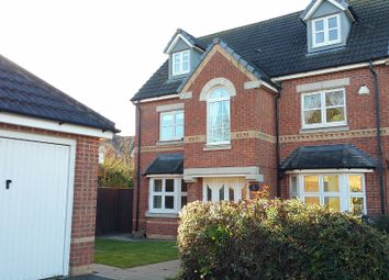 Thumbnail 5 bed detached house to rent in Badcock Way, Fleckney, Leicester