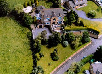 Thumbnail 4 bedroom detached house for sale in Plas Y Fforest, Fforest, Swansea, West Glamorgan.