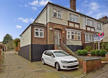 Thumbnail 3 bedroom semi-detached house for sale in Hacton Lane, Upminster, Essex