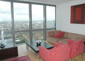 Thumbnail 2 bed flat to rent in One West India Quay, Canary Wharf