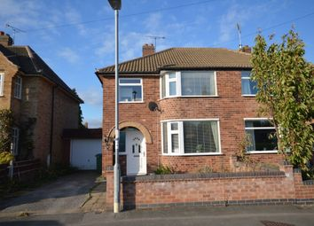 Thumbnail 3 bed semi-detached house for sale in Willow Road, Blaby, Leicester