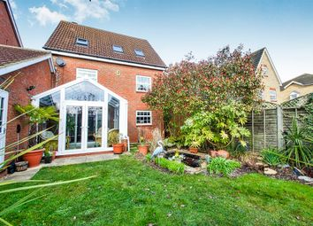 Thumbnail 5 bedroom detached house for sale in Rothbart Way, Hampton Hargate, Peterborough