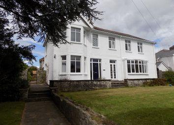 Thumbnail 5 bed detached house for sale in West Road, Bridgend
