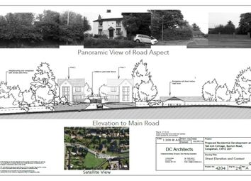 Thumbnail Land for sale in Buxton Road, Congleton