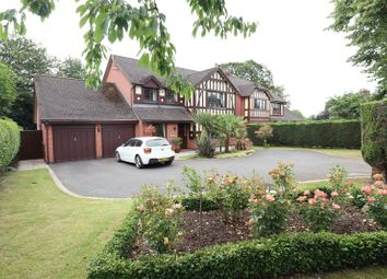 Thumbnail 4 bed detached house for sale in Congleton Road, Gawsworth, Macclesfield